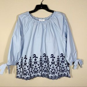 NWT Time and Tru Off The Shoulder Blouse  M (8-10)